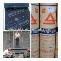 Bitumen Waterproof membrane for bathroom floors