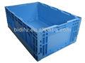 Caixa de plástico dobrável 100% pead virgem caixa de plástico dobrável 550*365*210mm