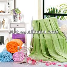 polyester coral fleece blanket