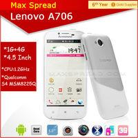 4.5'' Lenovo A706 dual sim active standby mini hand phone