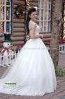 Elegant Round Neckline Designer Lace Vintage Wedding Dresses 2014