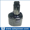 7.2V 2.0Ah power tool NI-CD battery for Dewalt DE9057, DE9085