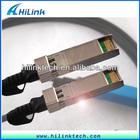 Passive 10G SFP Copper Fibre Optic Cable Security Equipment