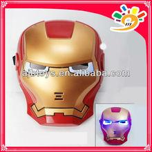 Kids party mask masquerade mask cartoon mask glow Iron man mask