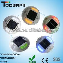 LED Plastic Solar on Road Studs
