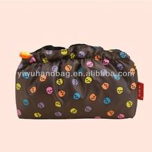 skull beautiful cosmetic make up bag for women