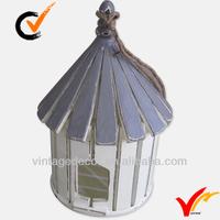 round vtg white hanging decoration cheap bird house supply