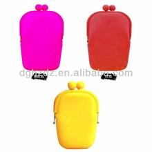 Colorful square shaped organic cotton makeup bag