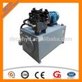 paquete de energía hidráulica unidad de potencia hidráulica sistema hidráulico para la venta