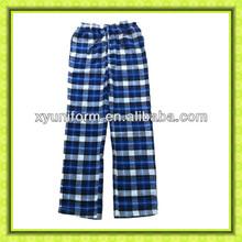 adult pajamas design wholesales simple pattern pajamas