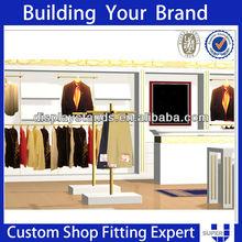 OEM ODM super u high quality retail clothing shop equipment