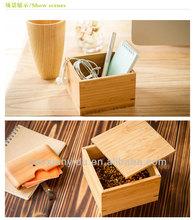 Samll Natural Bamboo Gift Box For Tea Storge Box Hot Sell New Arrive