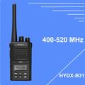 Walky talky uhf 400-470mhz con cola de eliminación ptt id, 5w