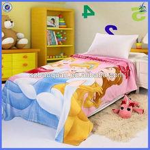 Cobertores do bebê fotos / atacadista indiano cobertores / 100 mink poliéster cobertor
