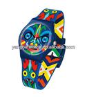 2014 newest fashion plastic swatche watch