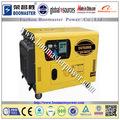 silenzioso generatore diesel portatile set