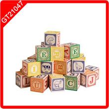 48pcs ABC Blocks wooden building blocks toys