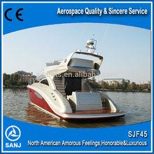 SANJ 2013 New and Fashion motor boat yacht SJF45