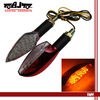 12V 15-LED Red Style Housing Bike Turn Signal Brake Light