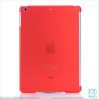 Frosted transparent matte skin pc back cover hard case for Apple ipad air