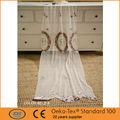 en forma de flor bordada cortinas neto