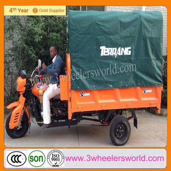 Chinese Adult Three Wheel Bikes Motorcycles with Cabin for Sale