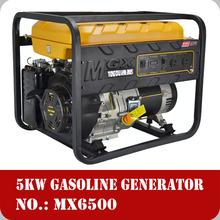 CHONQING made TONGDU Honda Type 5kw generators petrol gasoline fuel