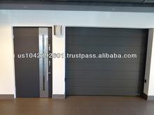 Modern Stainless Steel Sectional Garage Door