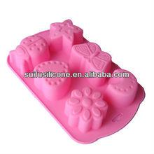 high quality FDA & LFGB standard silicone easter bakeware
