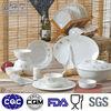 Hotel used luxury fine bone china stoneware dinner set for gift