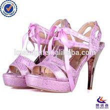 Fashion factory wholesale bridal wedding shoes