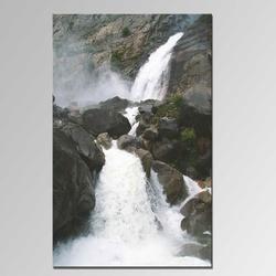 Handpainted Fantastic Natural Waterfall Scenery Oil Painting paintings of nature, modern wall art