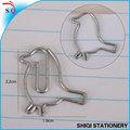 formas de animales con alambres de metal clip de papel