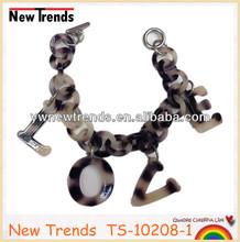 "Turtle LOVE charm bracelet, Tortoise bracelet with letter charm/ with ""LOVE"" pendant"