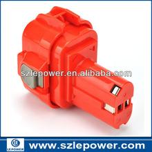 9.6V ni-mh power tool Battery for Makita 6000 Series, 6207D, 6207DWDE, 6990D, 6222D, 6222DE, 6222DWE, 6226D