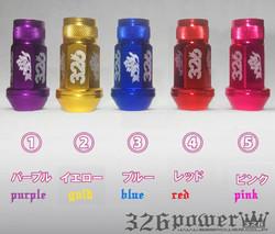 JDM VIP DRIFT 326 POWER LUG NUTS