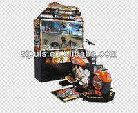 Simulator Motor Driving Game Machine