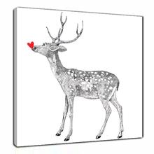 Christmas Deer Pop Arts