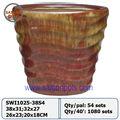 Cerâmica vietnamita, plantadores, potes, vasos, vasos vietnamitas