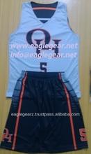 Custom Sublimated College Basketball Uniform (Jerseys & Shorts)
