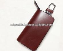 ADAKC - 0051 lovely leather key chain bag / high quality smart key wallets / pu leather key case manufacturer