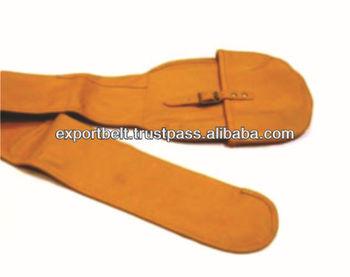 LEATHER GUN SLIP | Genuine leather shooting gun case for hunting equipment