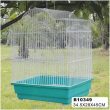2014 New design white metal decorative bird cages