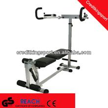 Total flex fitness hydraulic gym bench folding weight bench