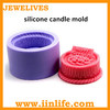 China birthday silicone candle molds