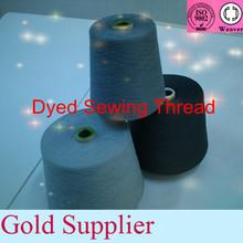 polyester yarn dyed 40/2 5000yards