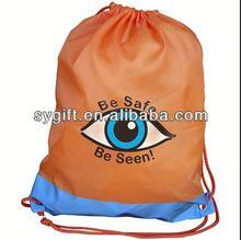 2014 New Product long purple velvet drawstring bag