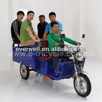 battery operated cargo rickshaw