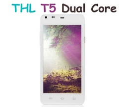 "THL T5S Cheap Android Phone 4.7"" QHD Screen MT6572W Quad Core 8.0mp Camera THL T5S Android Phone"