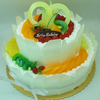 Fake cakes models for display / Artificial food manufacturer in Yiwu/ Sweet cakes with fruit